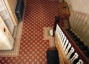 Victorian floor  tiles arundel pattern - just one of many patterns available